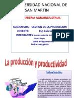 Produccion y Productividad