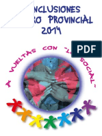 11. Conclusiones Foro Social 2014