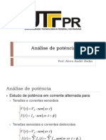 Analise de Potencia