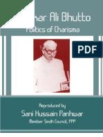 Zulfikar Ali Bhutto Politics of Charisma