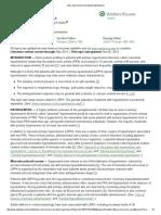 Low-renin Primary (Essential) Hypertension