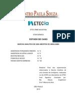 Marcha Analítica de uma amostra de amálgama - Relatório.docx