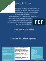 Sports VivekMenon IIM Indore