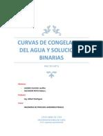 Curvas de Congelacion de Agua y Soluciones Binarias (Lazaro Cajusol y Salvador Reyes)