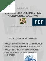 Las Relaciones Laborales y Las Negociaciones Colectivas