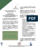 BOLETIN No_ 2 Instructivo Atención a Productores Damnificados Por La Ola Invernal 2010-2011