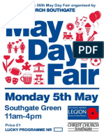 May Day Fair 2014 Programme
