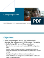 02-Implementing and Verifying EIGRP