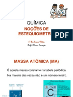 NOCOES-ESTEQUIOMETRIA