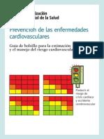 Tablas de Riesgo Cardiovascular Oms