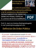Sesión 29 Delitos Contra El Orden Público