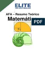 Dica Matematica AFA