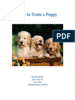 maual template puppy