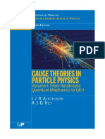 AITCHISON, I. J. R., And a. J. G. HEY, -Gauge Theories in Particle Physics - From Relativistic Quantum Mechanics to QED. Volume I-IOP (5)