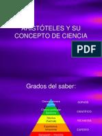 Aristóteles y Su Concepto de Ciencia[1][1]