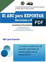 Incentivos Económicos - Cámara de Comercio de Puerto Rico