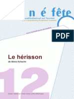 CINEFETE12 Dossier Le Herisson 2