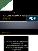 La Literatura Plebeya en Salta
