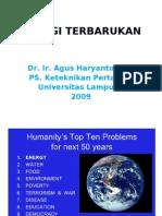 Energi Terbarukan Energi Demand-supply