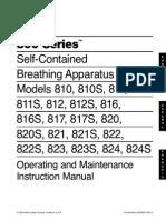 800 Series SCBA Manual