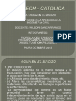Exposicion de Geologia Aplicada a La Ingenieria Civil.2013