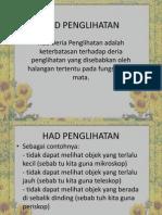 nota Had Penglihatan Dan Pendengaran