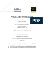 Adaptive Discovery Mechanism for Wireless Environments