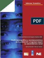 Bucheli y Cabrla. Perfil Demogràfico y Socioeconómico de La Población Uruguaya