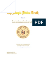 The Simple Divine Truth Book - 01