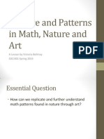 balance and patterns in math and nature