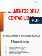 Fundamentos Contables - Proceso Contable