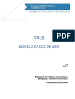 PRJS - Modelo de Casos de Uso