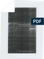 ABBOT LAB PAKISTAN (ANNUAL REPORT 2005) -FinStatement