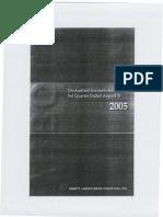 ABBOT LAB PAKISTAN (ANNUAL REPORT 2005) -FinStatement