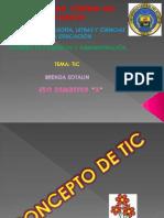Presentacion Historia y Concepto de Tic