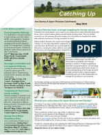SEQ Catchments Catching Up Newsletter Upper Bris - May 2014