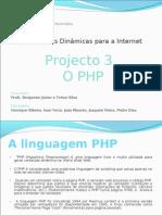 A Linguagem PHP