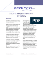 2008 Analysis Guide