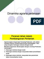 Modul 6 Dinamika Agraria Pedesaan