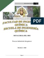 95305139 Metalurgia Del Oro Presentacion