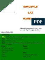 pln lacrosse outline