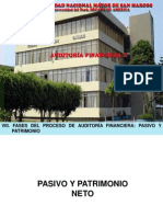 La Auditoria Financiera c