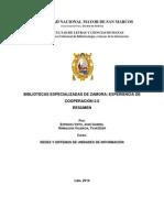 Bibliotecas Especializadas de Zamora