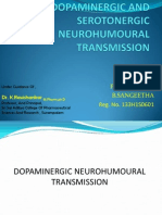 Dopaminergic and Serotonergic Neurohumoural Transmission