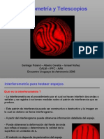 Interferometria y Telescopios Montevideo