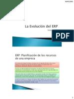 Evolucion ERP