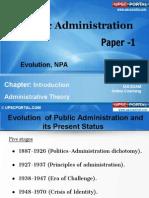 PUB AD (1B) - Chapter-Evolution, NPA