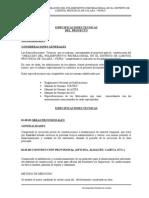 ESPECIFICACIONES TECNICAS POLIDEPORTIVO