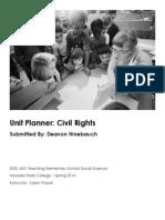 EDEL453 Spring2014 DeavonHINEBAUCH Unit Plan Planner