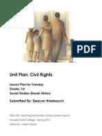 EDEL453 Spring2014 DeavonHINEBAUCH Unit Plan Tuesday